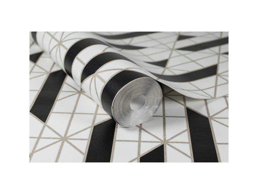 Tapeta Linear Black & White