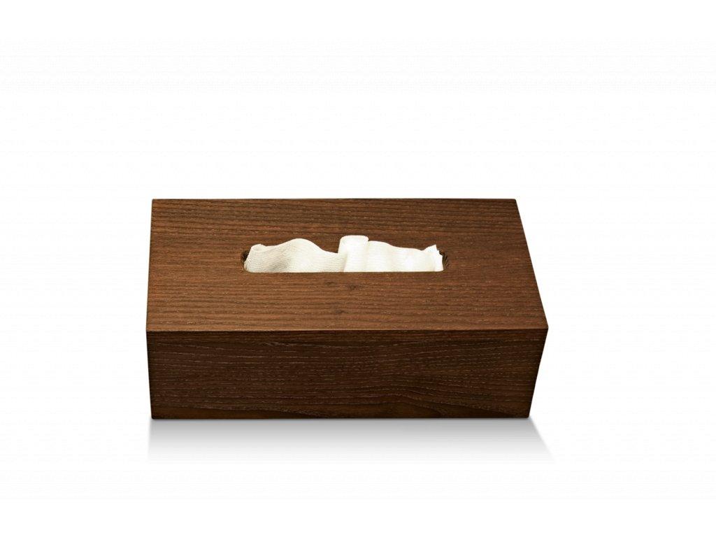 Dřevěný box na papírové kapesníky Walther Decor