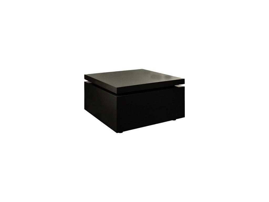 Černý konferenční stolek Kelly Hoppen Flow