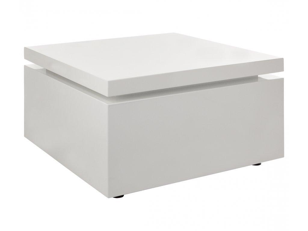 Bílý konferenční stolek Kelly Hoppen Flow