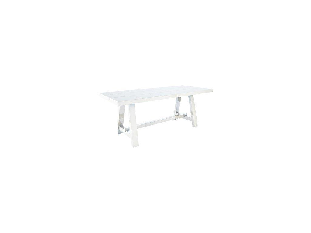 Bílý velký jídelní stůl Kelly Hoppen Lacquer