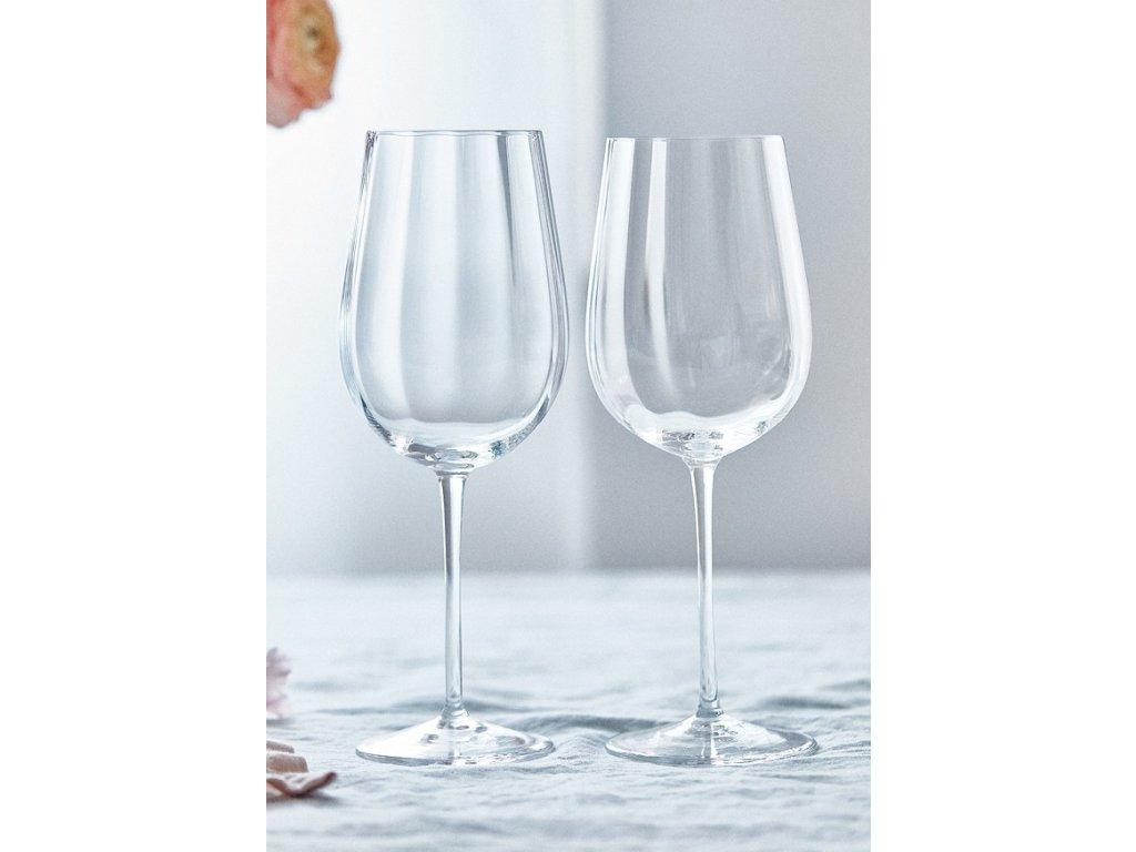 Optis sklenice na bile vino detail