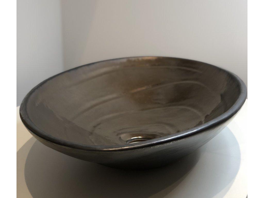 Dufek keramika Designové oválné umyvadlo