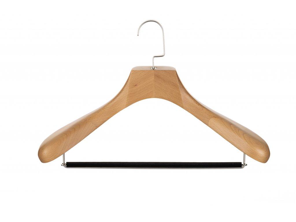 Pánské ramínko na sako s tyčí (světlé) 00001
