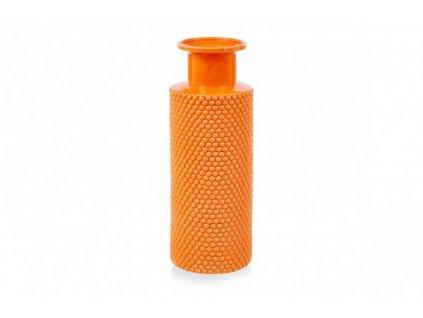 large bubble vase orange pp compressor