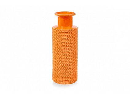large bubble vase orange pp compressor