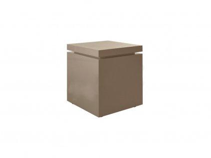 Béžový odkládací stolek Kelly Hoppen Flow Medium