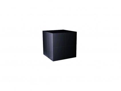 Černý odkládací stolek Kelly Hoppen The small cube