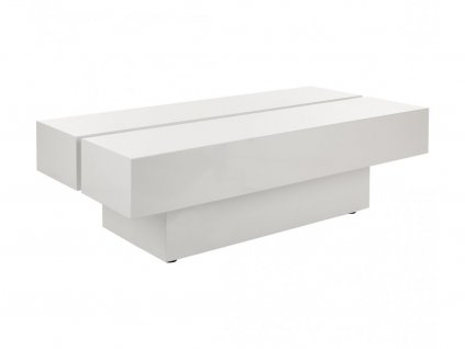Bílý konferenční stolek Kelly Hoppen Lacquer Art