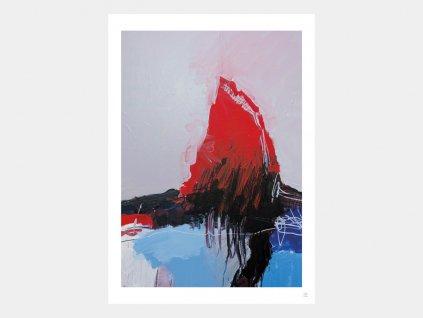 Abstraktní obraz PERSISTENCE ARTYLIST - Jan Valer