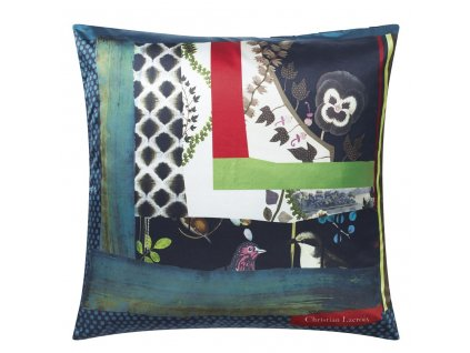 christian lacroix cushion pansy patch crepuscule
