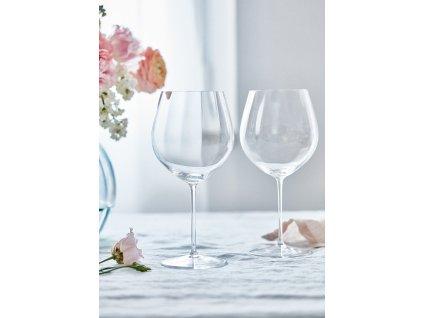 sklenice na cervene vino optis