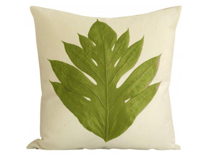 Dekorační polštář Arbre A Pain zelený