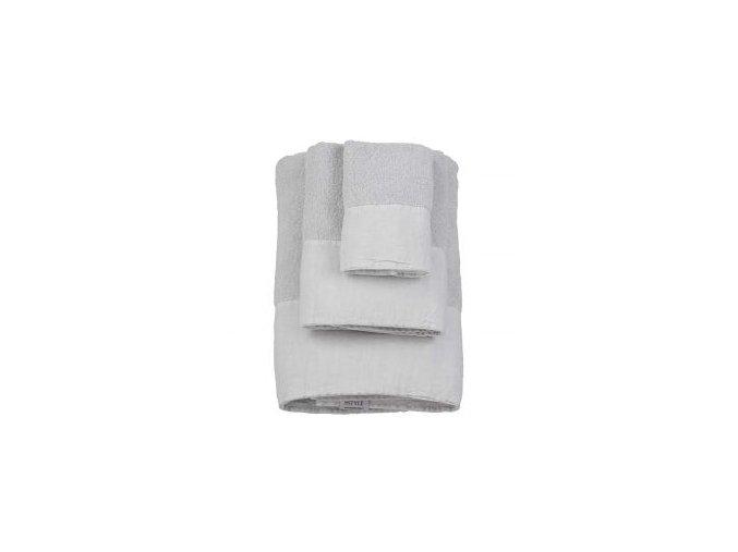 antibes towels light grey