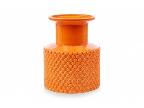 small bubble vase orange pp compressor