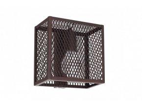 Nástěnné světlo Caged Single