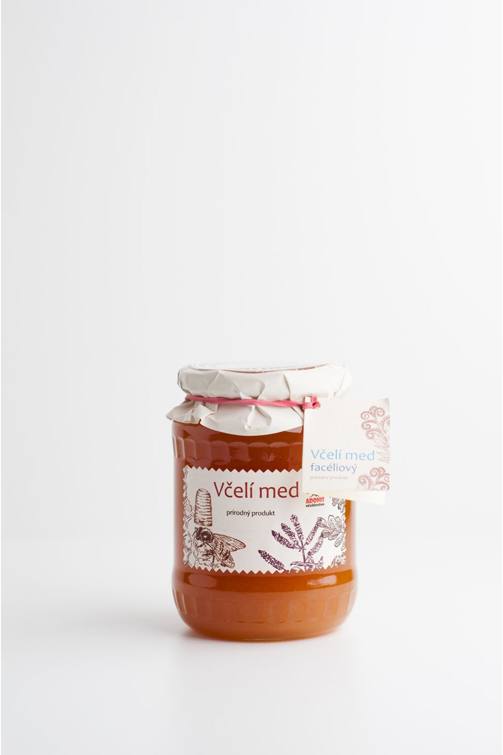 Faceliový med - 900g