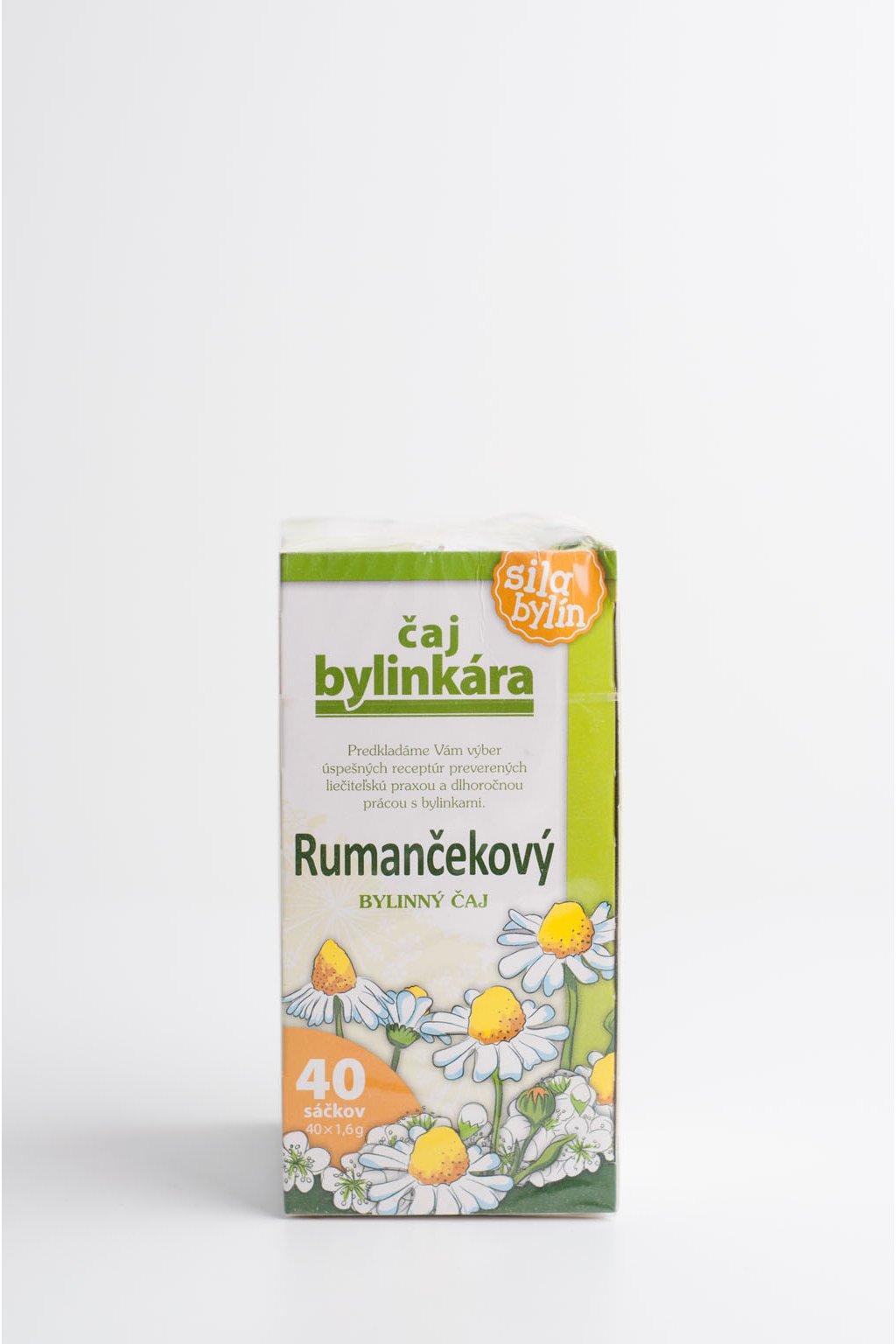 Rumančekový - 40x1,6g
