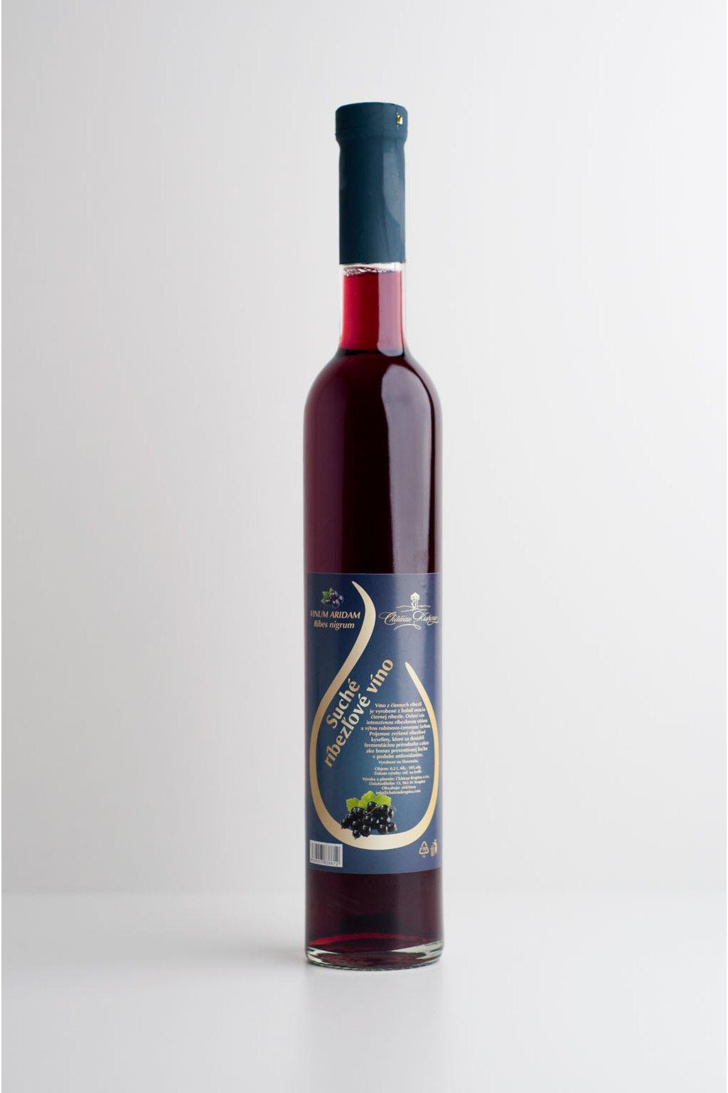 Suché ríbezľové víno - 0,5l
