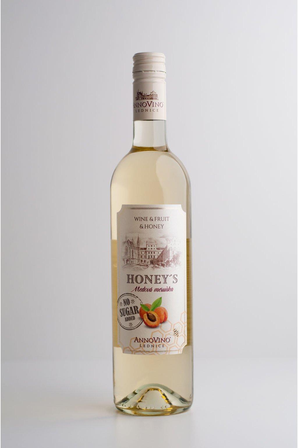 Víno medová marhula - 0,75l