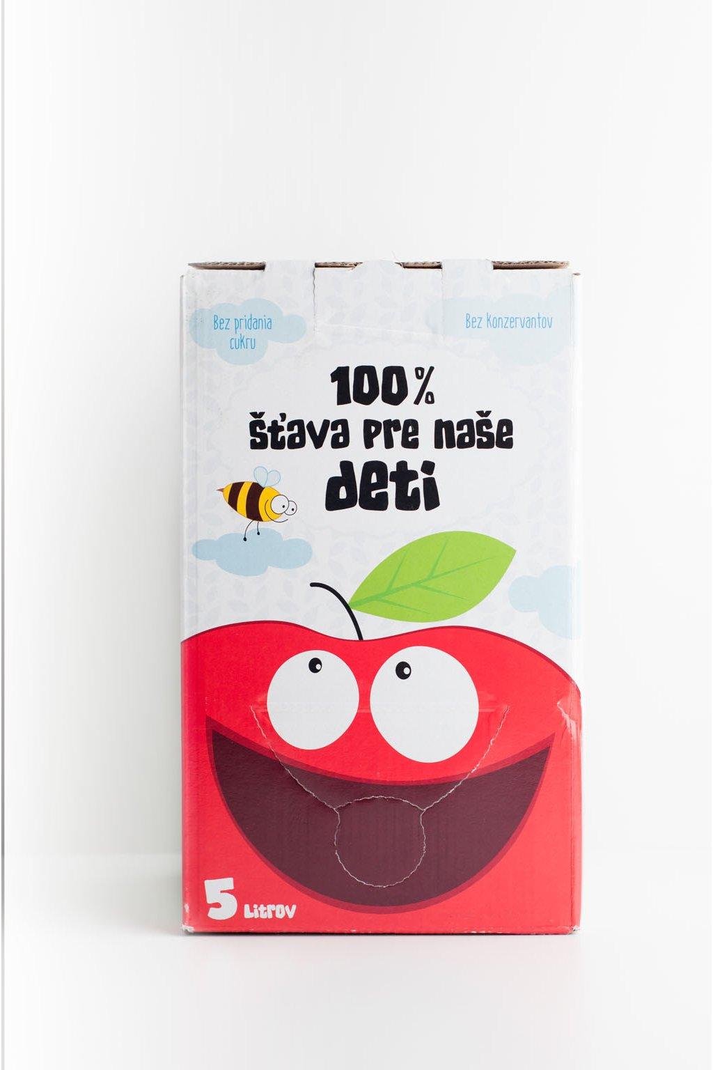 Jablková šťava s višňou - 5l