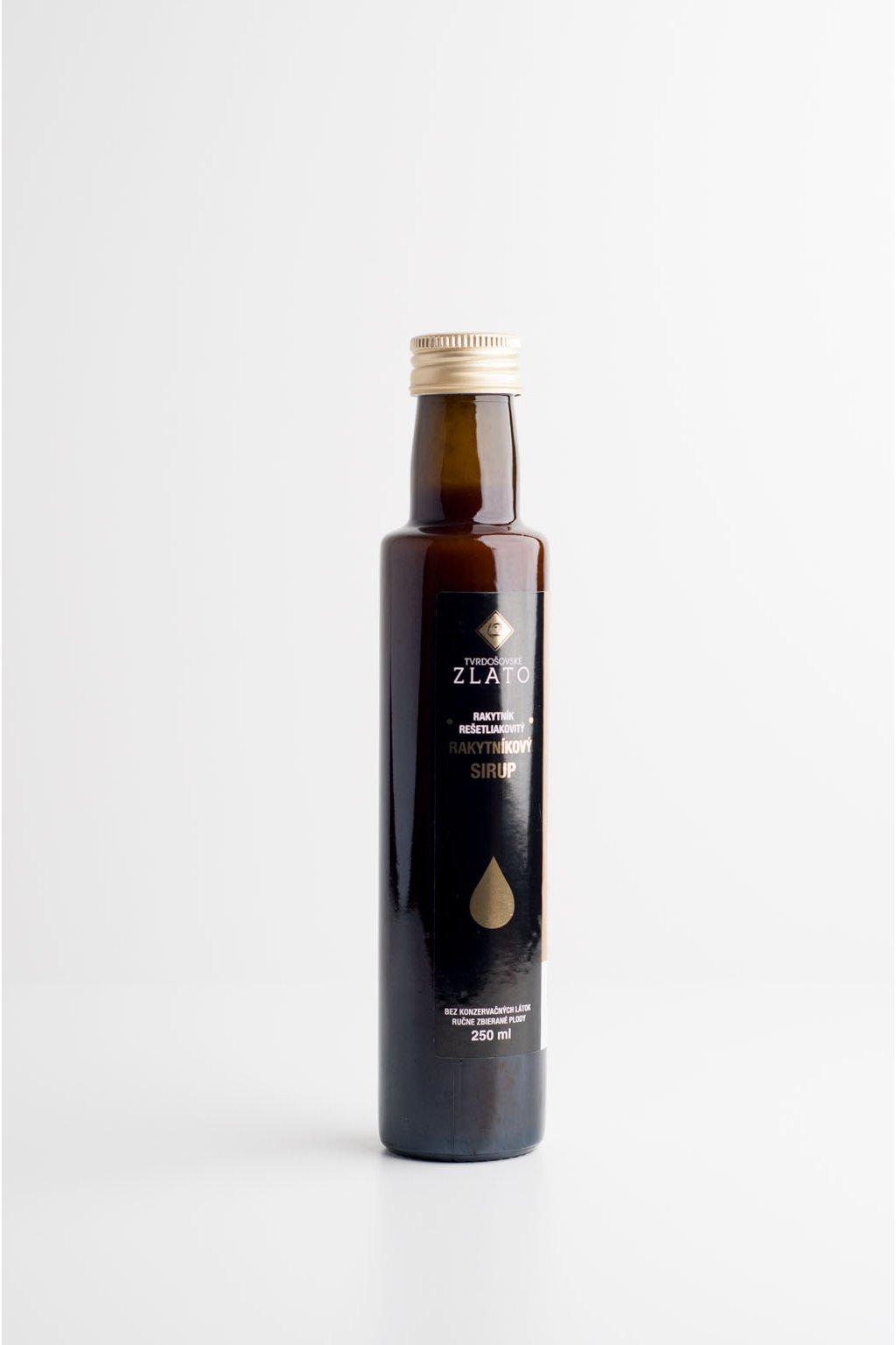 Rakytníkový sirup - 0,25l
