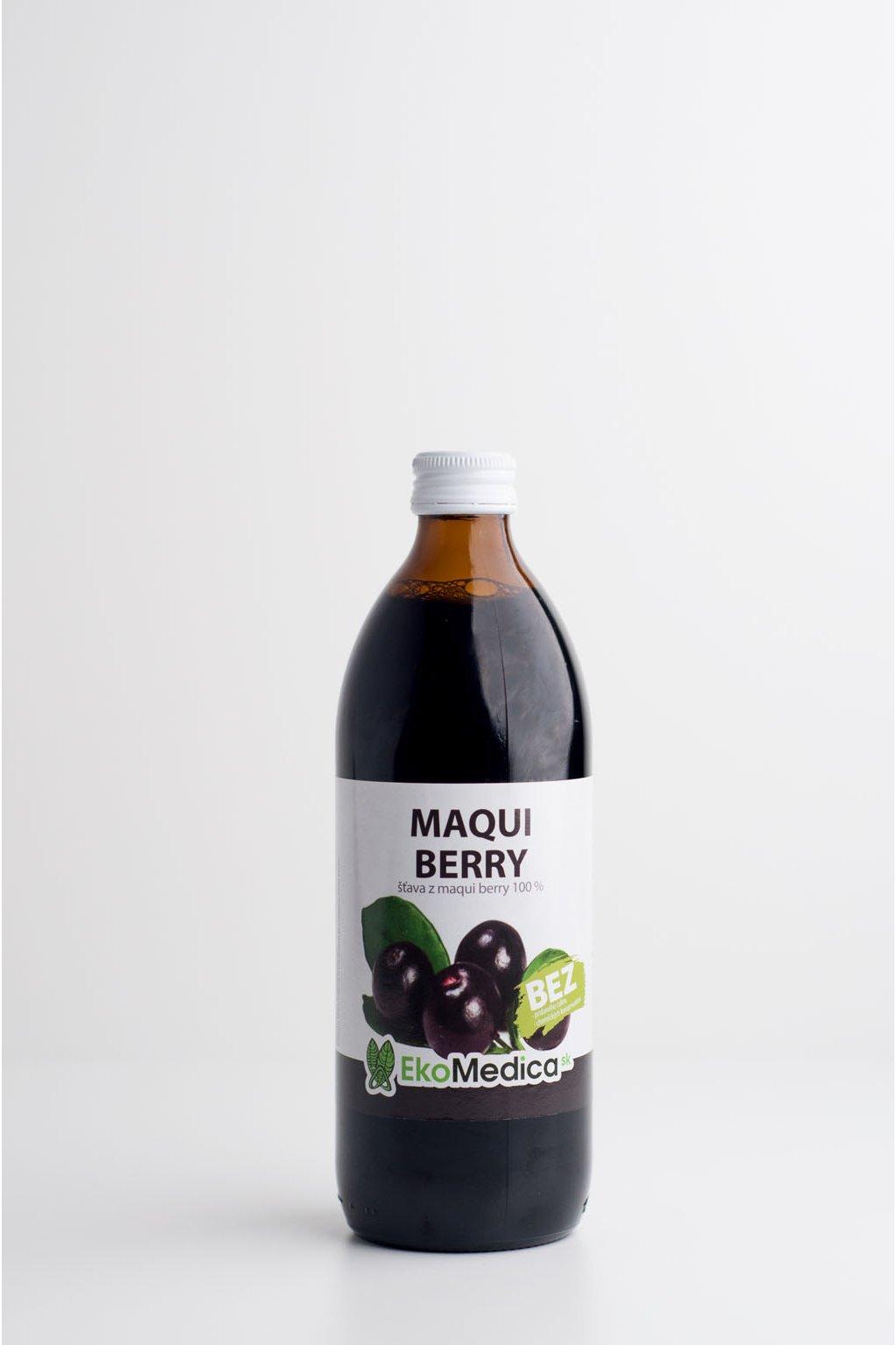 Maqui Berry 100% - 0,5l