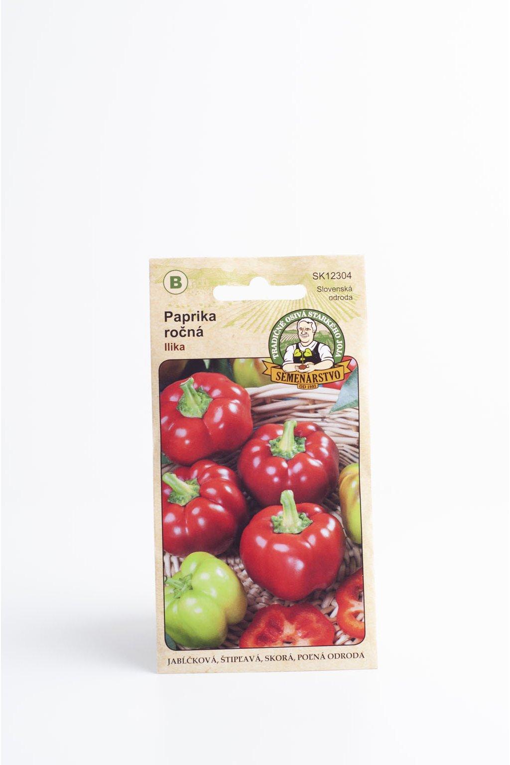 Paprika ročná - Llika