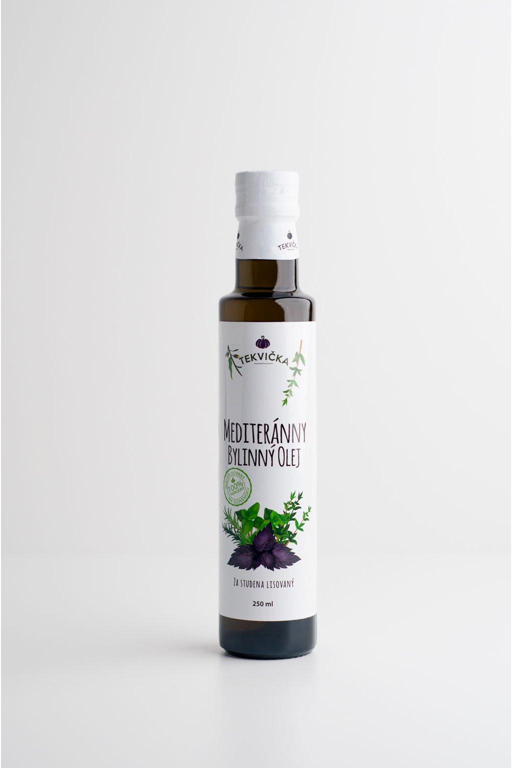 Mediteránny bylinný olej 100% - 0,25l