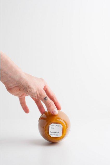 Včelí med s peľom - 250g