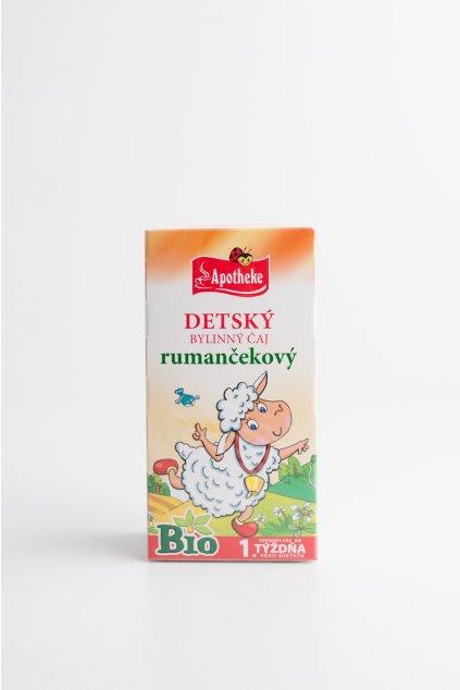 Detský bylinný čaj Rumančekový - 20x2g