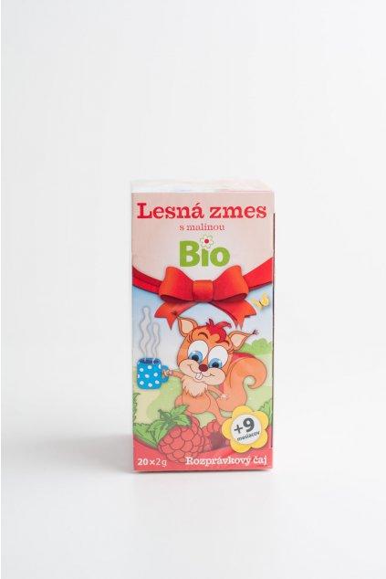 Čaj krtko lesná zmes s malinou - 20x2g