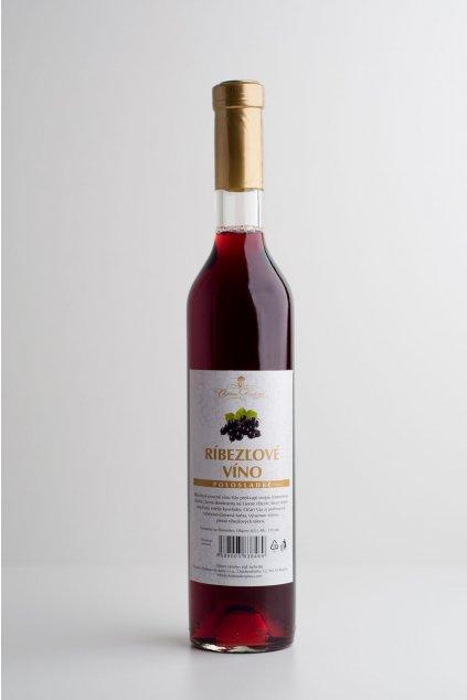 Ribezľové víno - 0,5l