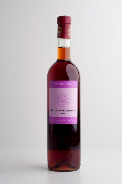Víno z červených ríbezlí