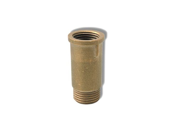"""MOS 652 15-10 mosazné prodloužení 1/2"""" x 10mm"""