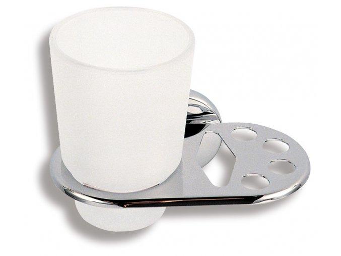 NOVATORRE 6149.0 držák skleničky a kartáčků s pastou
