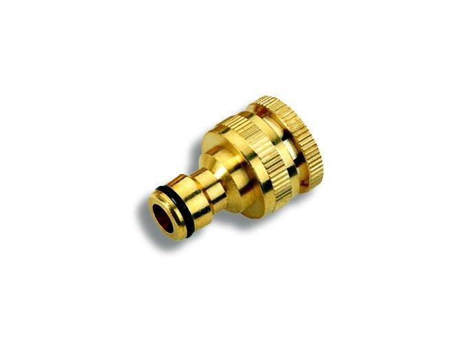 """Novaservis DY8024C adaptér 1/2"""" x 3/4"""", mosaz"""