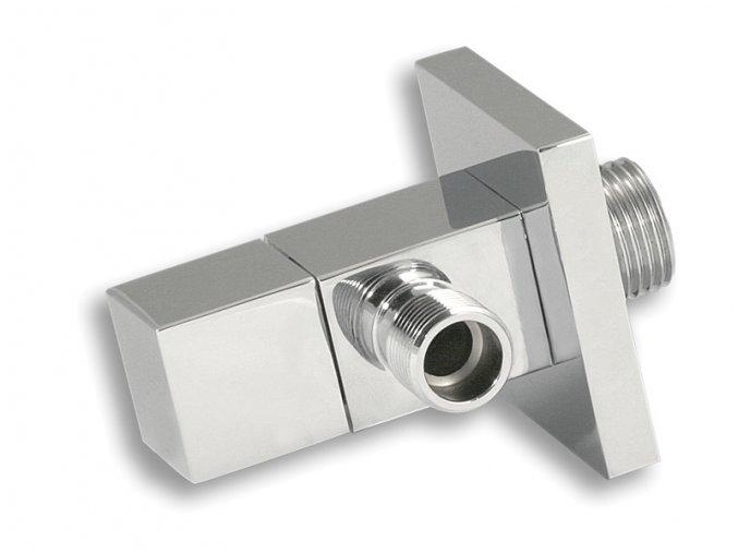 """ARM CF3007/10 designový hranatý rohový ventil 1/2"""" / 3/8"""""""