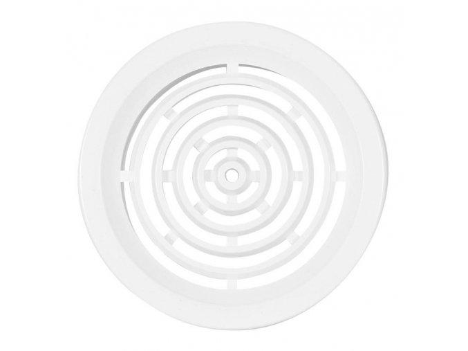 Větrací mřížka PVC 50mm bílá