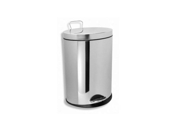 NOVATORRE 6161.0 kulatý odpadkový koš 12 litrů