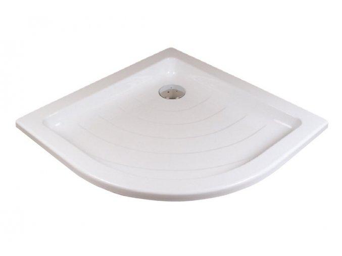 RAVAK RONDA 90LA čtvrtkruhová sprchová vanička 90/90cm, akrylát