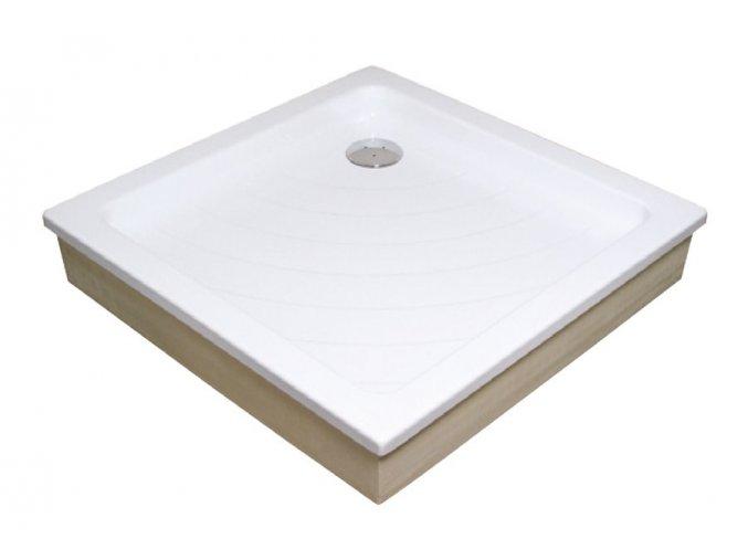 RAVAK ANGELA 80EX čtvercová sprchová vanička 80/80cm, akrylát