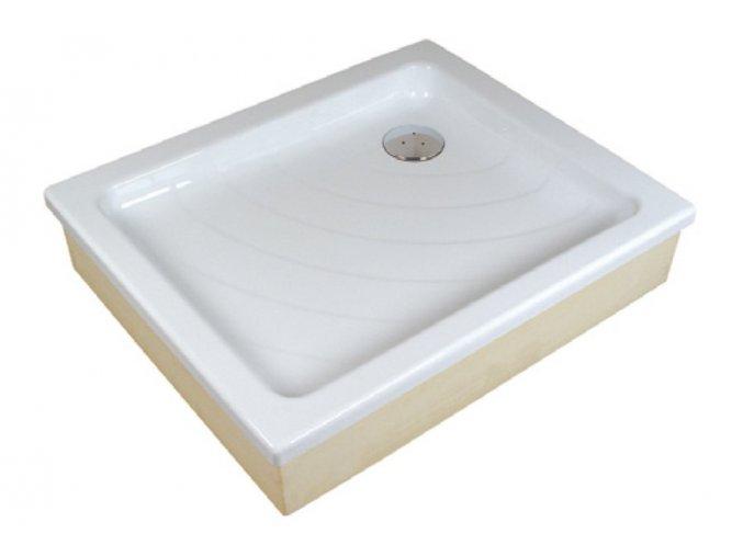 RAVAK ANETA 75/90EX obdélníková sprchová vanička 75/90cm, akrylát