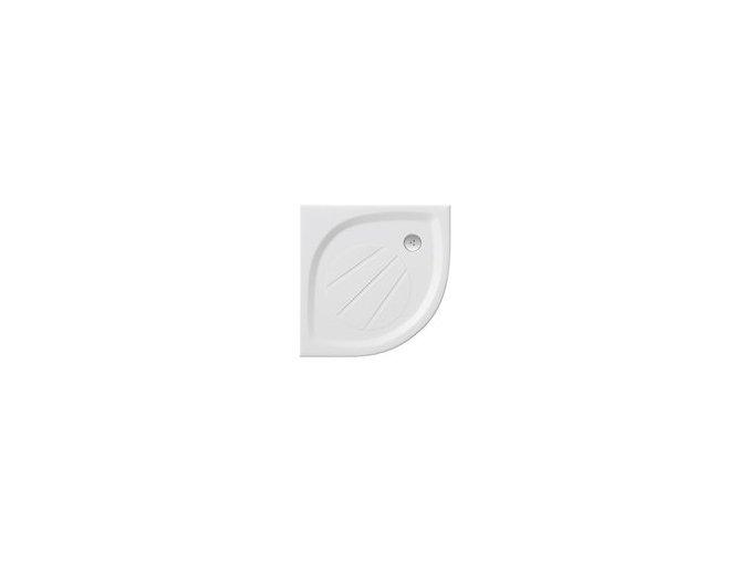 RAVAK ELIPSO PRO 100 čtvrtkruhová sprchová vanička 100/100cm, úmělý mramor