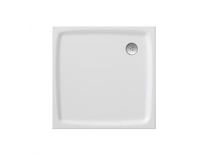 RAVAK PERSEUS PRO 90FLAT čtvercová sprchová vanička 90/90cm, úmělý mramor