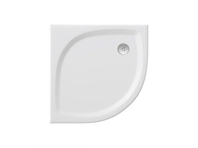 RAVAK ELIPSO PRO 90 FLAT čtvrtkruhová sprchová vanička 90/90cm, úmělý mramor