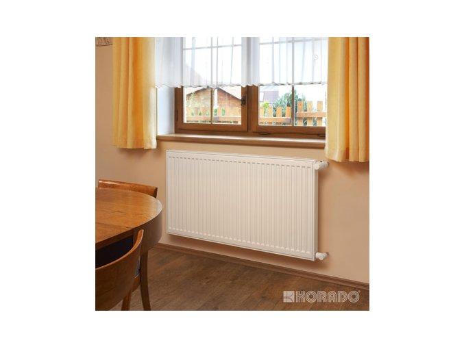 RADIK KL 10 4050 deskový radiátor s bočním připojením, bílý