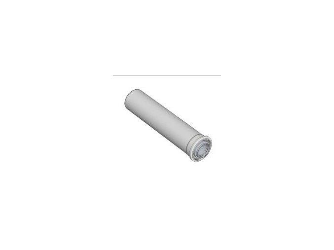 KOUŘ B52100001 koaxiální trubka 60/100/250mm pro odvod spalin kondenzačních kotlů