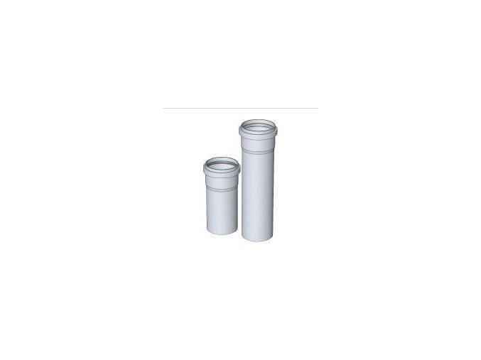 KOUŘ B52100116 trubka 80/2000mm pro odvod spalin kondenzačních kotlů