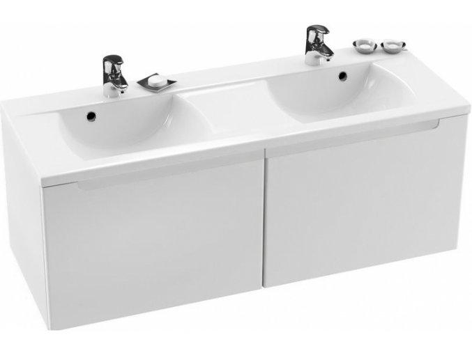 RAVAK CLASSIC SKŘÍŇKA POD DVOJUMYVADLO 1300x490mm bílá - KONCEPT CLASSIC